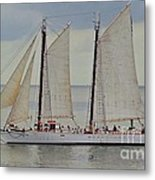 Sailing The Keys Metal Print