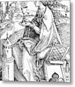 Saint Barbara (c200 Metal Print
