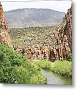 Salt River Above Roosevelt Lake Metal Print