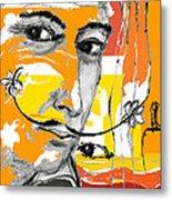 Salvador Dali Metal Print