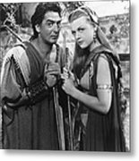 Samson And Delilah, From Left Victor Metal Print