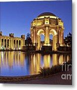San Francisco Palace Of Fine Arts Theatre Metal Print