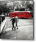 San Francisco Tram Metal Print