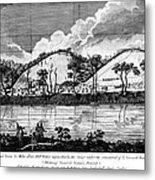 Saratoga: Encampment, 1777 Metal Print