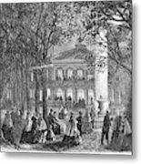Saratoga Springs, 1865 Metal Print