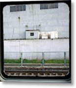 Scene From A Train In Chinas Southern Metal Print