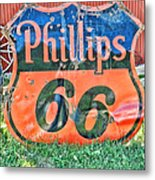 Scenes From An Antique Store In South Dakota Metal Print