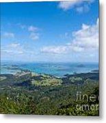 Scenic Coromandel Peninsula Nz Coastline Seascape Metal Print