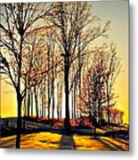 Scenic Sunset Metal Print