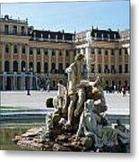 Schoenbrunn Palace In Vienna - Austria Metal Print