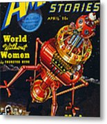 Science Fiction Cover 1939 Metal Print