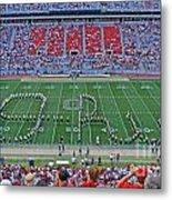 27w115 Script Ohio In Osu Stadium Metal Print