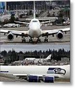 Seahawks 747 Metal Print