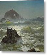 Seal Rock California Metal Print