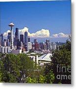 Seattle City View Metal Print