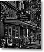 Seattle Coffee Works Metal Print