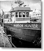Seattle Fisherman Wharf Metal Print