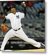 Seattle Mariners V New York Yankees Metal Print