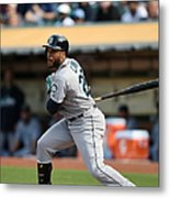 Seattle Mariners V Oakland Athletics - Metal Print