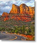 Sedona Arizona Panorama Metal Print