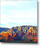Sedona Sunset Metal Print