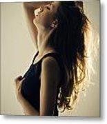 Seductive Woman Metal Print by Jelena Jovanovic