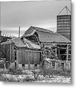 Seen Its Better Days Metal Print