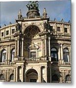 Semper Opera Dresden Germany Metal Print