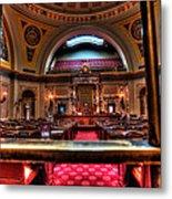 Senate Chamber Metal Print