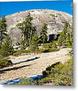 Sentinel Dome From Sentinel Dome Trail In Yosemite Np-ca  Metal Print
