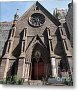 Serbian Orthodox Church Of St Sava Metal Print