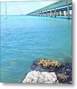 Seven Mile Bridge-2 Metal Print