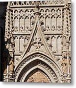 Seville Cathedral Ornamentation Metal Print