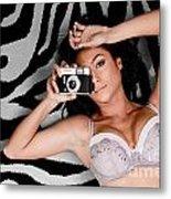 Sexy Photographer Metal Print