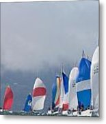 Sf Bay Colors Metal Print