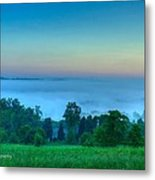Shaconage Land Of The Blue Smoke Metal Print by Paul Herrmann