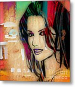 Shania Twain Collection Metal Print