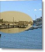 Shaw's Wharf At Sakonnet Point In Little Compton Rhode Island Metal Print