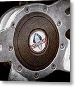 Shelby Cobra Steering Wheel Emblem Metal Print