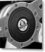 Shelby Cobra Steering Wheel Metal Print
