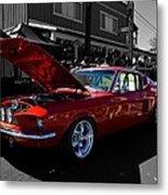 Shelby Gt 500 Mustang Metal Print