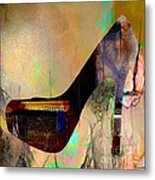 Shoe Art Metal Print
