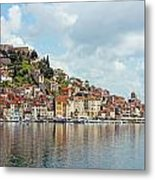 Sibenik Town On Adriatic Sea  Metal Print