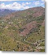 Sierra De Almijara Hills Metal Print