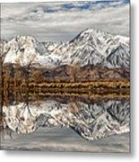 Sierra Reflections Metal Print
