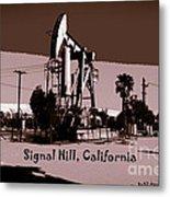 Signal Hill Metal Print