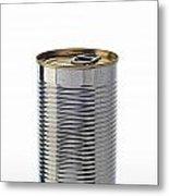 Simple Tin Can Metal Print