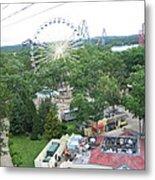 Six Flags Great Adventure - 12125 Metal Print