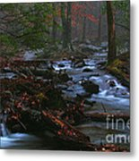 Smoky Mountain Color Metal Print