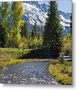 Sneffles And Stream I Metal Print